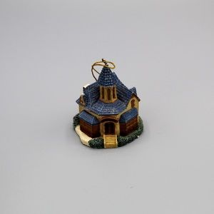 Thomas Kinkade house ornament